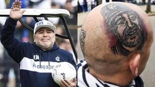 Maradona nuovo allenatore del Gimnasia: tifosi in delirio, Diego è commosso