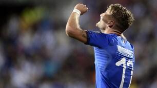 Urlo Immobile: in gol con l'Italia dopo due anni