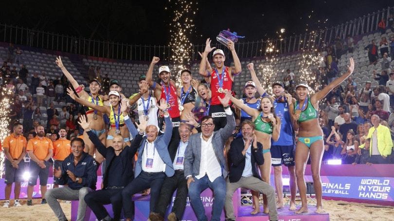 Roma Beach Finals: vincono russi e tedesche