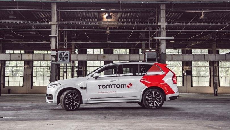 Salone di Francoforte, TomTom e il prototipo a guida autonoma