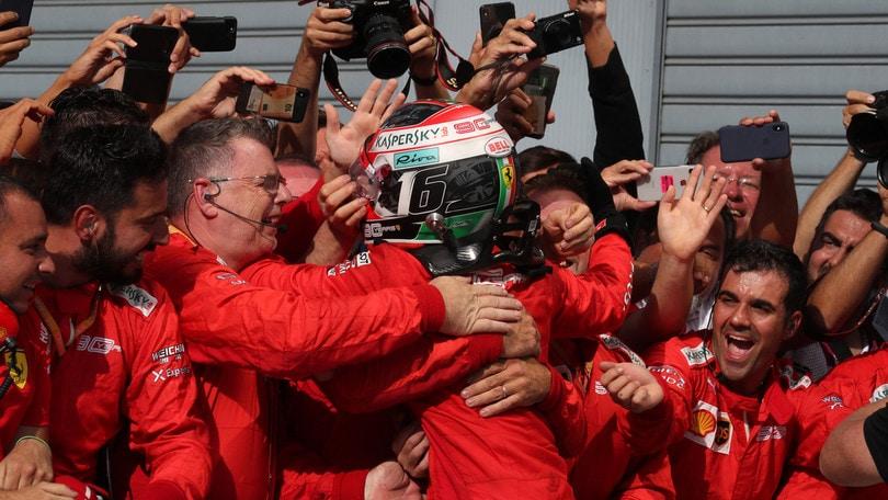 F1, Leclerc e la Ferrari trending topic su Twitter