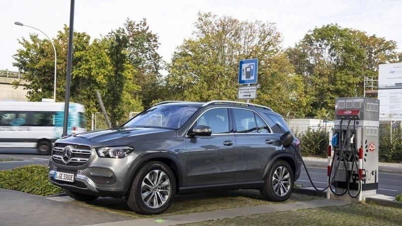 Salone di Francoforte, debutta la Mercedes GLE 350de ibrido plug-in