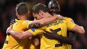 Lukaku, gol e assist col Belgio: Conte può sorridere