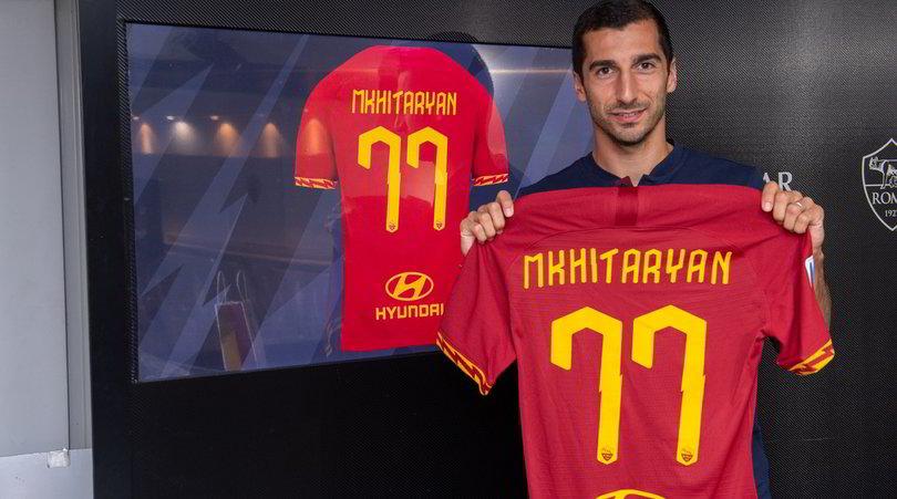 La Roma scopre Mkhitaryan