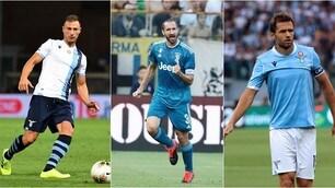 Serie A, i fedelissimi: guidano Radu, Chiellini e Lulic