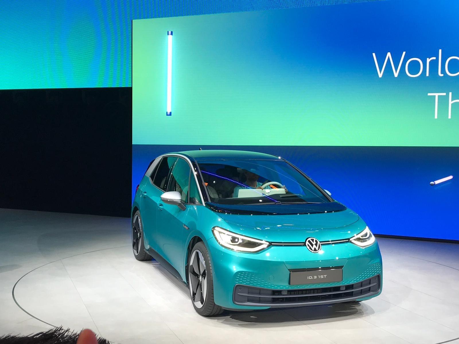 Volkswagen ID.3 al Salone di Francoforte FOTO