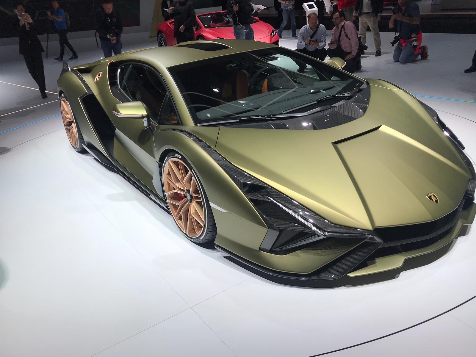 Lamborghini Sian al Salone di Francoforte, FOTO
