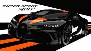 Bugatti Chiron Super Sport 300+: LE FOTO