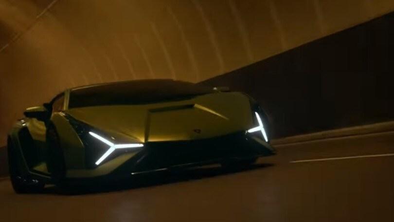Lamborghini Sián, il VIDEO di presentazione