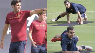 "Roma, Mkhitaryan a lavoro: Fonseca lo mette al ""tappeto"""