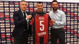 Bologna, presentato Medel