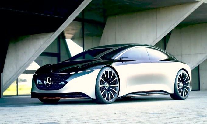 Salone di Francoforte 2019, Mercedes EQS Vision: VIDEO