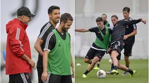 Sarri ritrova la Juve: di nuovo in campo per l'allenamento