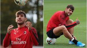 Sorriso Milan: Theo Hernandez si allena in gruppo
