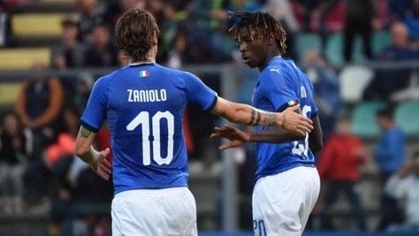 Italia-Lussemburgo U21 5-0: Kean in gol su rigore, magia di Sottil