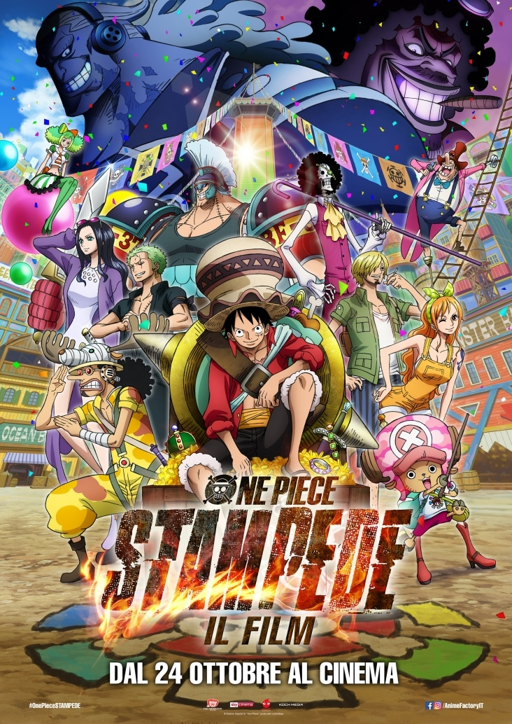 One Piece: Stampede - Il film, guarda il teaser trailer e il poster in anteprima!