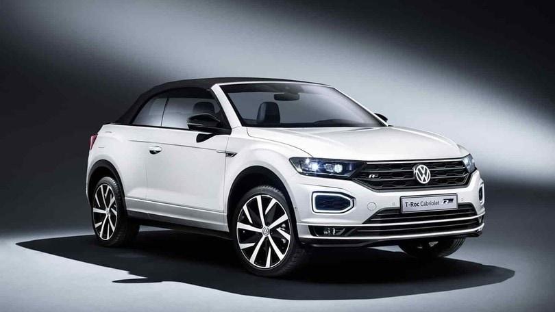 Volkswagen T-Roc Cabriolet, il nuovo crossover debutta al Salone di Francoforte