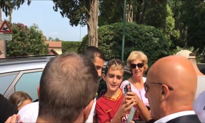 Roma, Mkhitaryan subito in campo