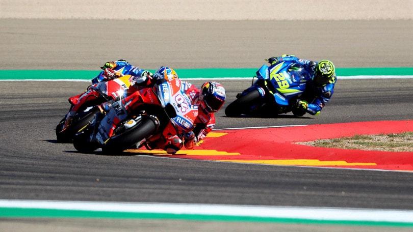 MotoGp: la gara di Aragon spostata alle 13.00