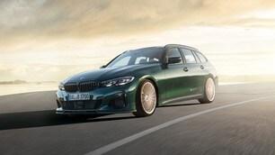 BMW Alpina B3 Touring a Francoforte: gli scatti