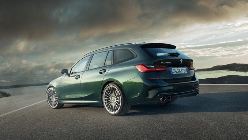 BMW Alpina B3 Touring, emozioni forti a Francoforte