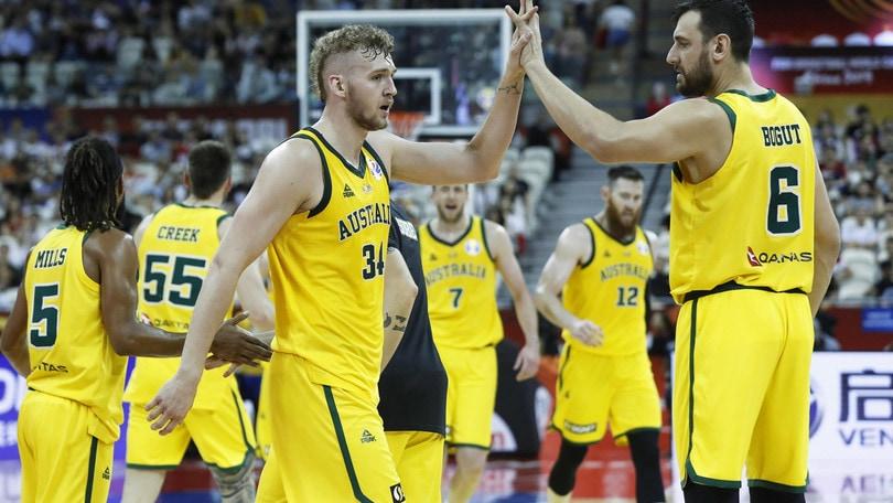 L'Australia batte la Repubblica Ceca: è in semifinale ai Mondiali di basket