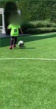 Mateo Messi, che show in campo