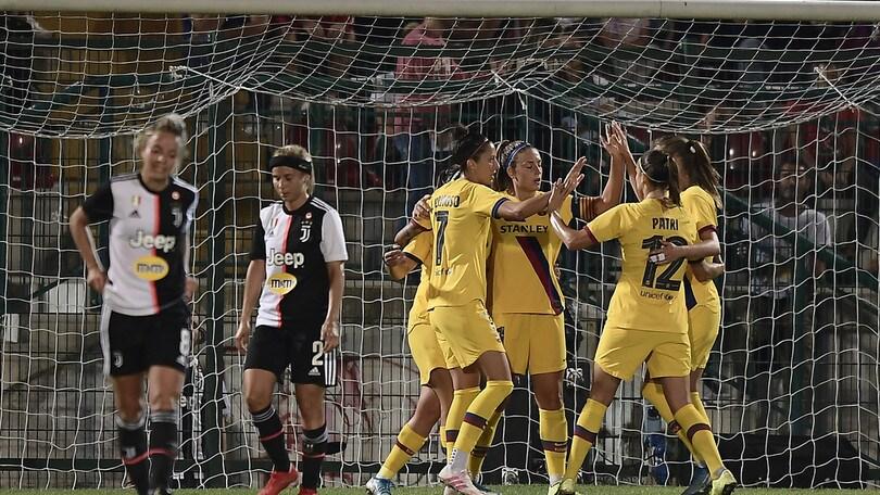 Juventus Women ko in Champions, 2-0 per il Barcellona