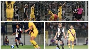Troppo Barça per la Juve di Gama e Rosucci