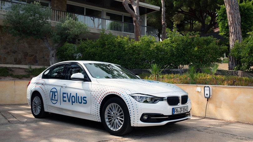 ZF EVplus: ibrida con un'autonomia che supera i 100 km