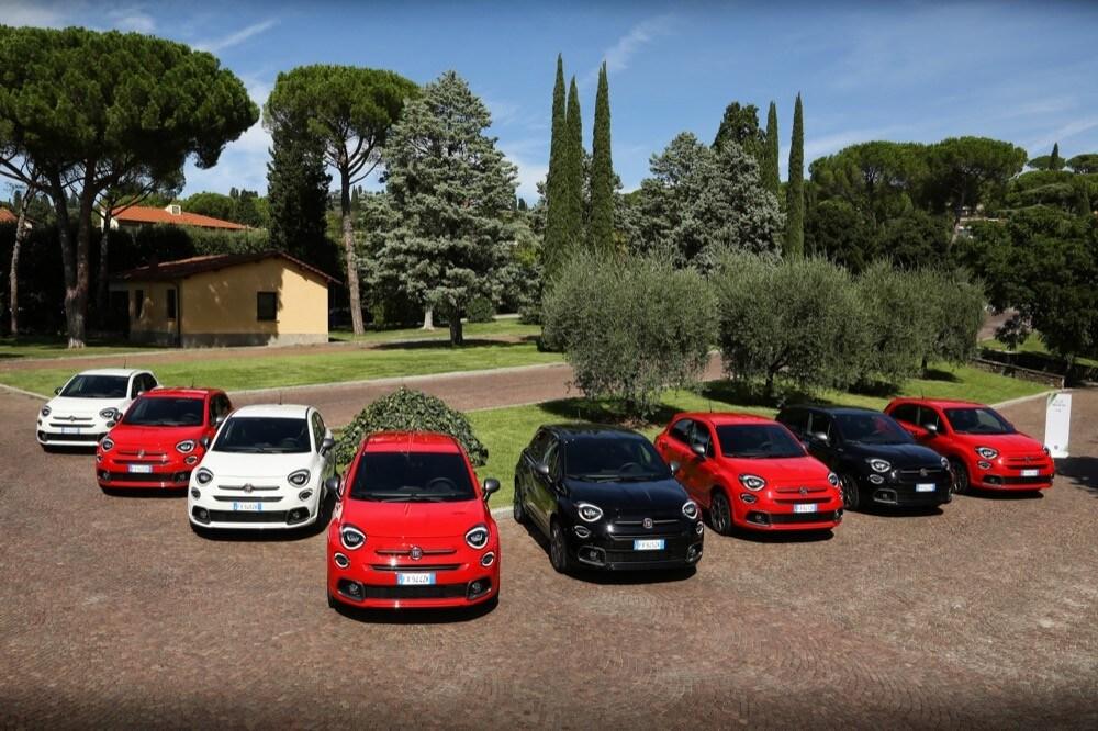 Fiat 500X Sport a Coverciano: Foto