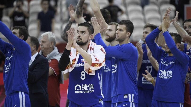 Mondiali di basket, la Repubblica Ceca supera la Polonia