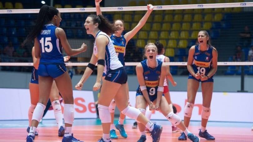 Italia Volley Calendario.Mondiali Under 18 L Italia E In Semifinale Corriere Dello