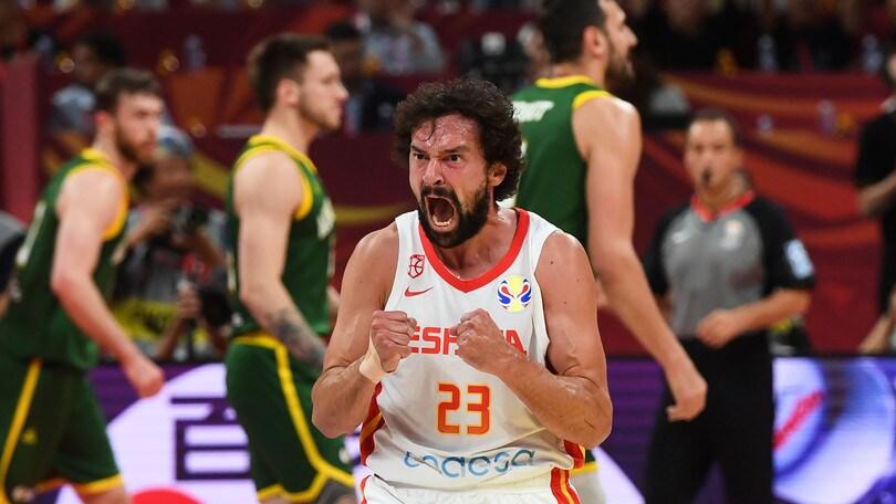 Spagna prima finalista del Mondiale: Australia ko al secondo overtime