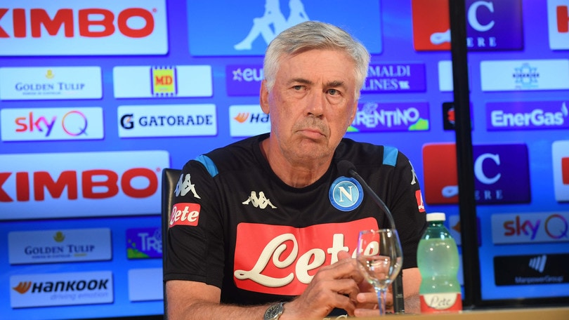 """Ancelotti: """"San Paolo? Si poteva far prima. Llorente forse dal 1'"""""""