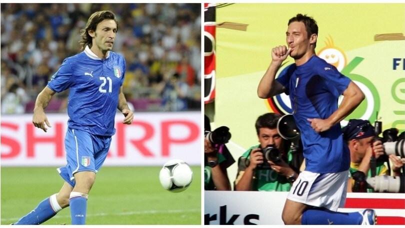 Azzurri Legends, Totti torna in campo con Cannavaro e Pirlo