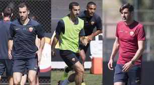 Mkhitaryan prepara l'esordio con la Roma