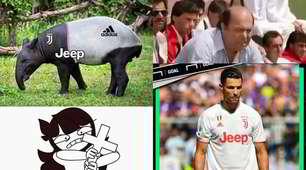 Juve, la maglia biancorossa scatena le ironie sui social