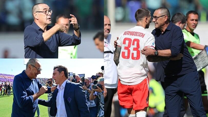 Fiorentina-Juve, la prima di Sarri in A sulla panchina bianconera