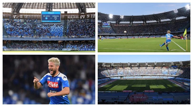 Napoli ok nel nuovo San Paolo grazie a Mertens