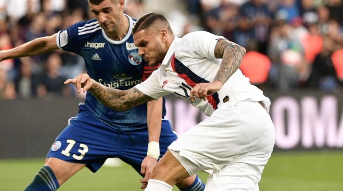 <p>L'ex attaccante dell'Inter è sceso in campo al 63' al Parco dei Principi contro lo Strasburgo: mezz'ora e un'occasione per segnare. Alla fine ha deciso il match la stella brasiliana in pieno recupero</p>