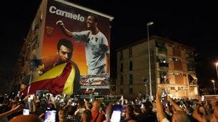 Imbriani, murales gigante a Benevento