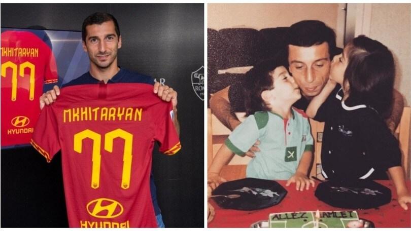 Mkhitaryan, esordio da brividi: in diretta in Armenia, nel ricordo del padre