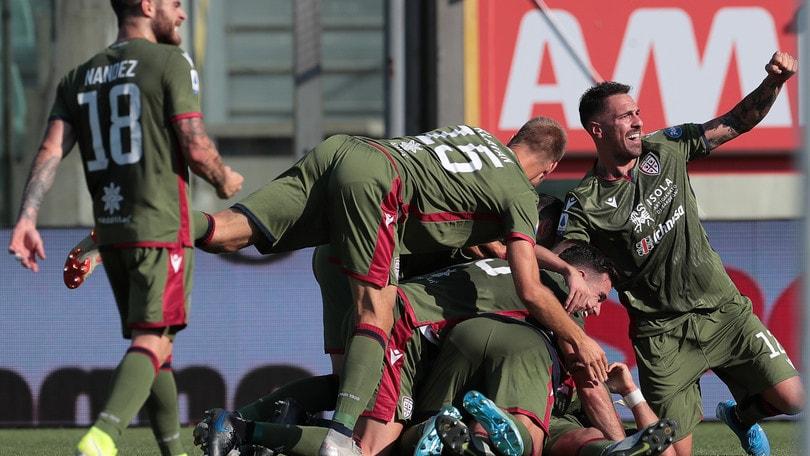 Serie A: il Cagliari vince a Parma, festival del gol in Brescia-Bologna