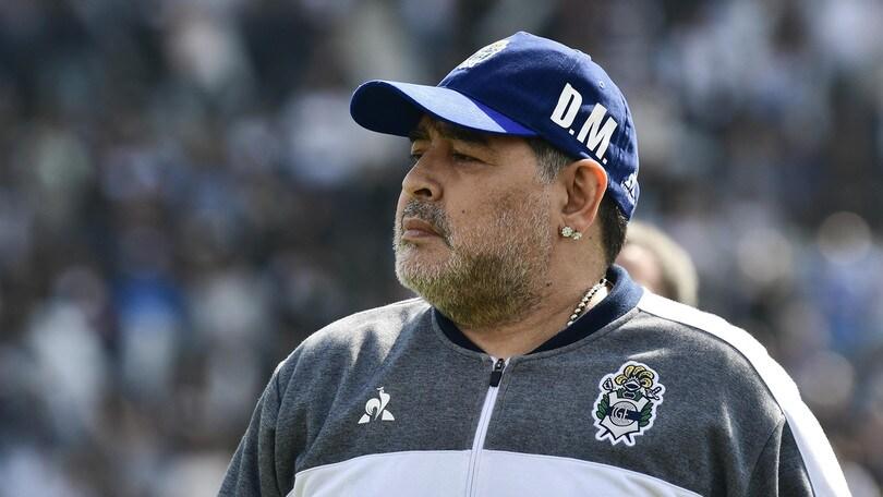 Maradona ko all'esordio col Gimnasia La Plata