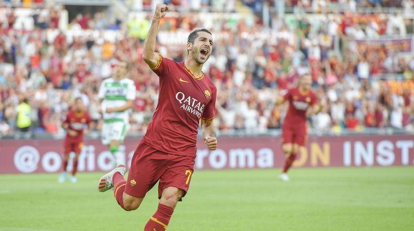 Roma-Sassuolo 4-2: Mkhitaryan, esordio con gol. Pellegrini, che show!