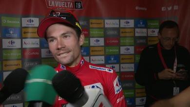 """La Vuelta a Roglic: """"Ci speravo. Mi sento più forte""""."""