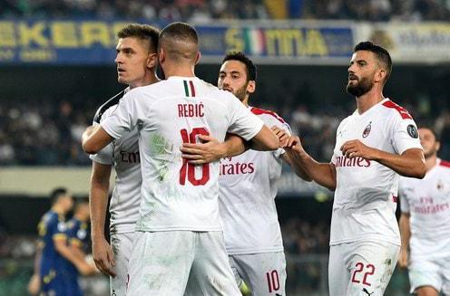 Verona-Milan 0-1: decide un rigore di Piatek