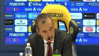 """Giampaolo su Piatek: """"E' sereno, il gol non cambia nulla"""""""