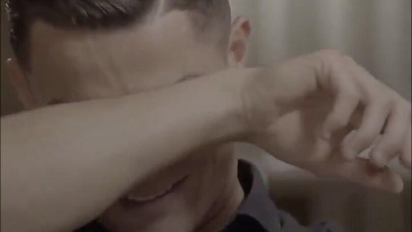 """Cristiano Ronaldo scoppia in lacrime in tv: """"Non ha visto chi sono diventato"""" VIDEO"""